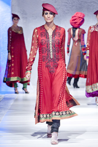 London Fashion Week 2012 By Nauman Arfeen Latest